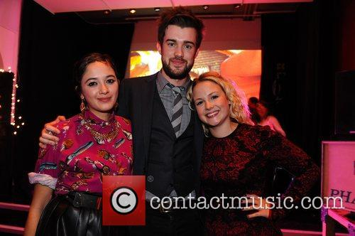 Guest, Jack Whitehall and Kimberley Nixon 2