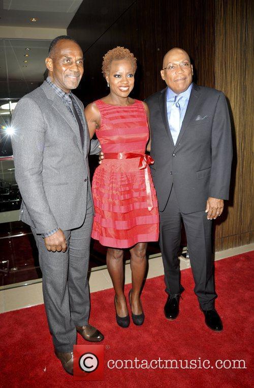 Julius Tennon, Viola Davis and Paris Barclay 2