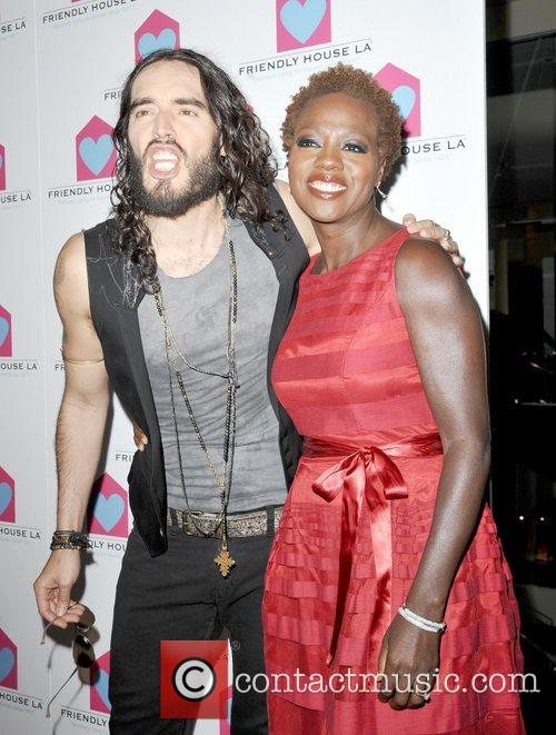 Russell Brand and Viola Davis 10