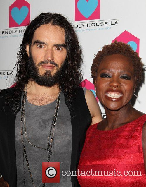 Russell Brand and Viola Davis 5