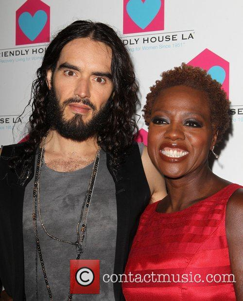 Russell Brand and Viola Davis 7