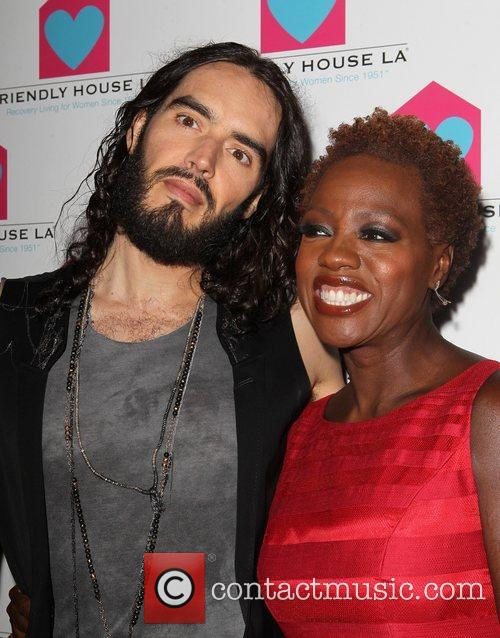 Russell Brand and Viola Davis 8