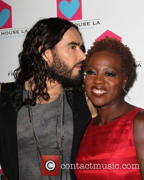 Russell Brand and Viola Davis 11