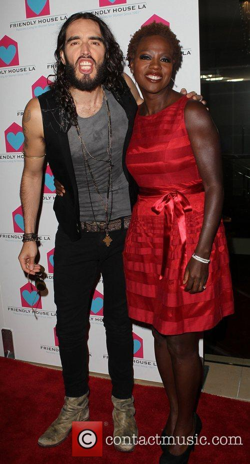 Russell Brand and Viola Davis 3