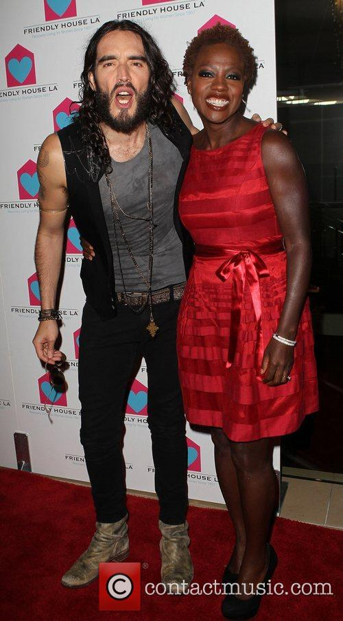 Russell Brand and Viola Davis 4