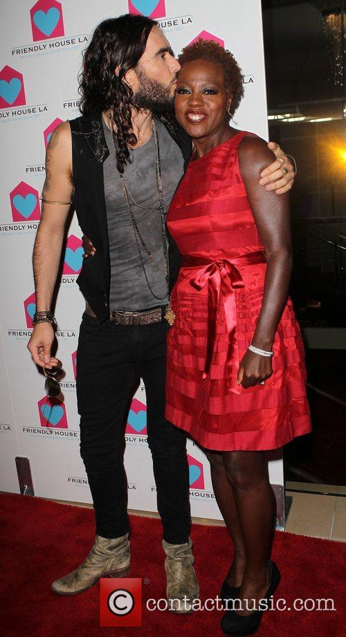 Russell Brand and Viola Davis 6