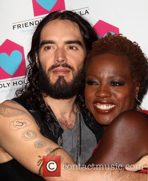 Russell Brand and Viola Davis 1