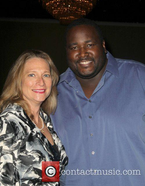 Betsy Butler and Quinton Aaron 1