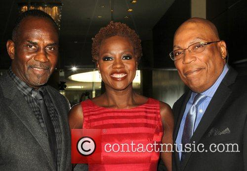 Julius Tennon, Viola Davis and Paris Barclay 2
