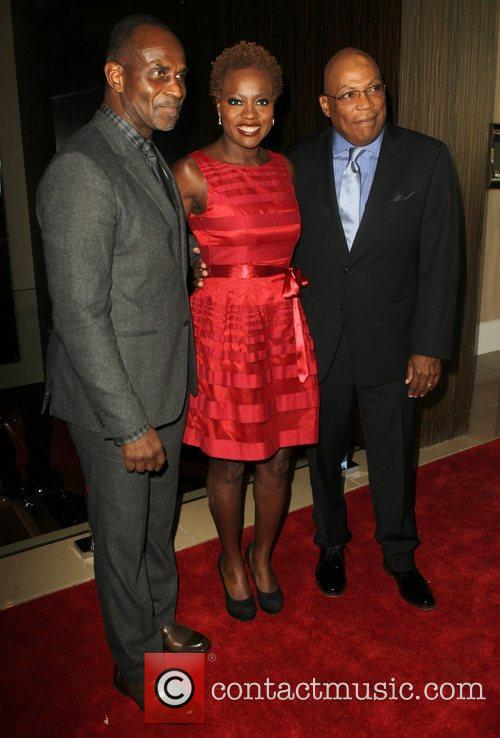Julius Tennon, Viola Davis and Paris Barclay 1