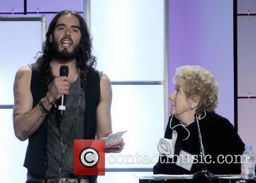 Russell Brand and Peggy Albrecht 10