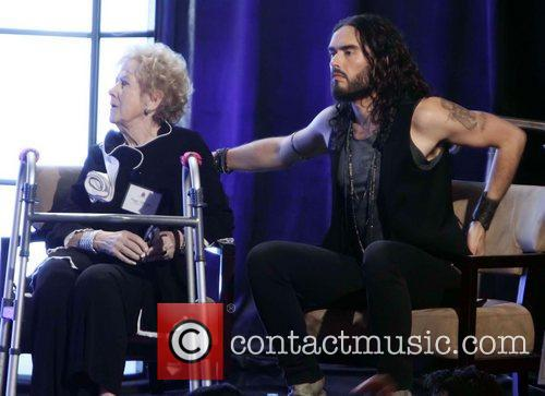Russell Brand and Peggy Albrecht 3