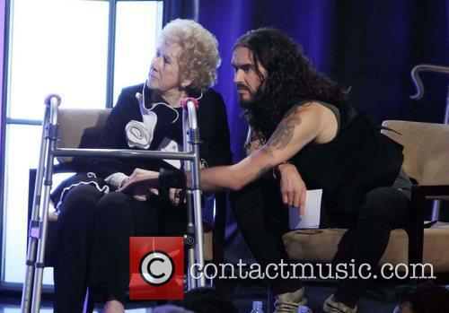 Russell Brand and Peggy Albrecht 11
