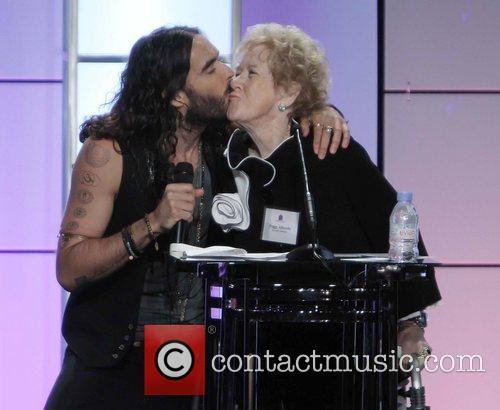 Russell Brand and Peggy Albrecht 9