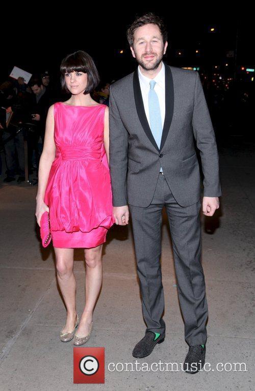 Chris O'Dowd and Dawn Porter The Cinema Society...
