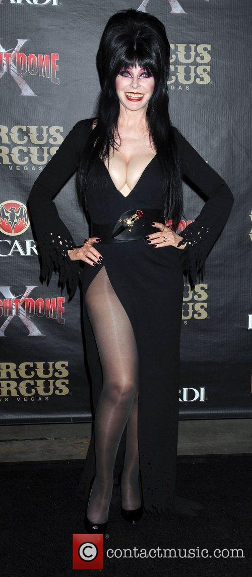 Elvira 10th Anniversary of Fright Dome at The...