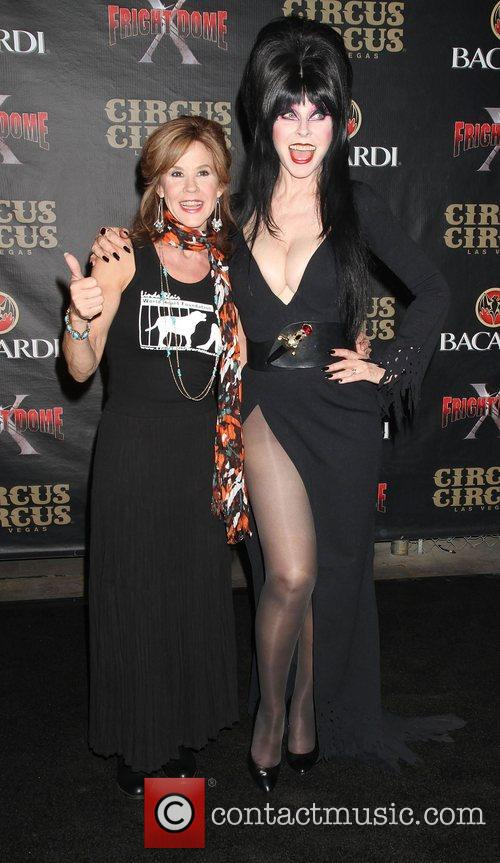 Linda Blair and Elvira 5