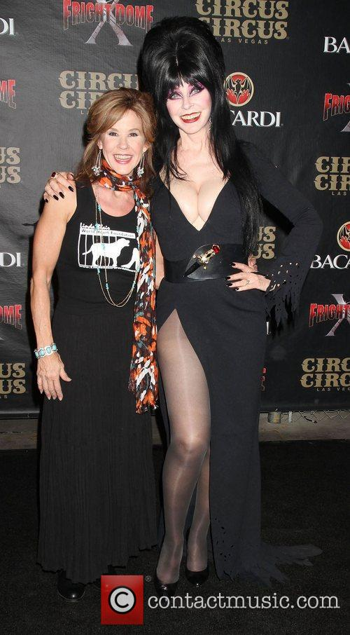 Linda Blair and Elvira 2