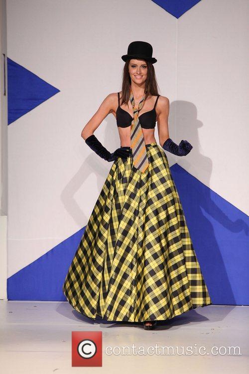 Model and Anna Demidova 2