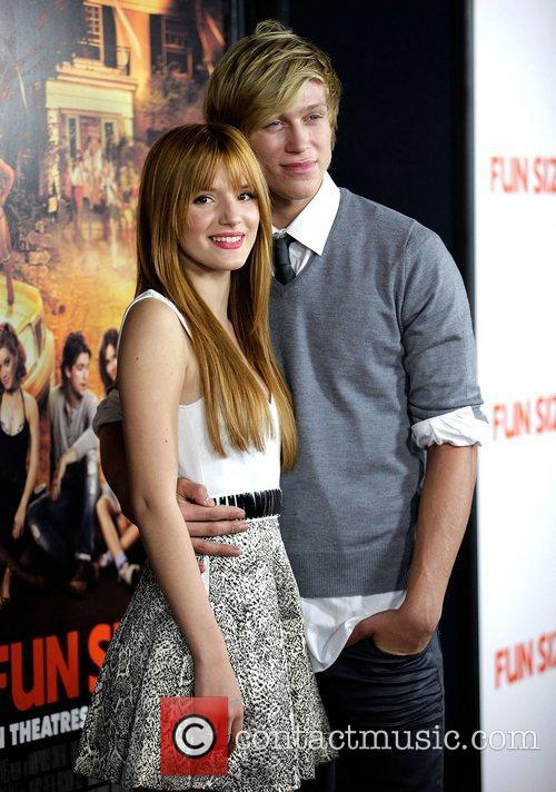 Bella Thorne and Tristan Klier The premiere of...