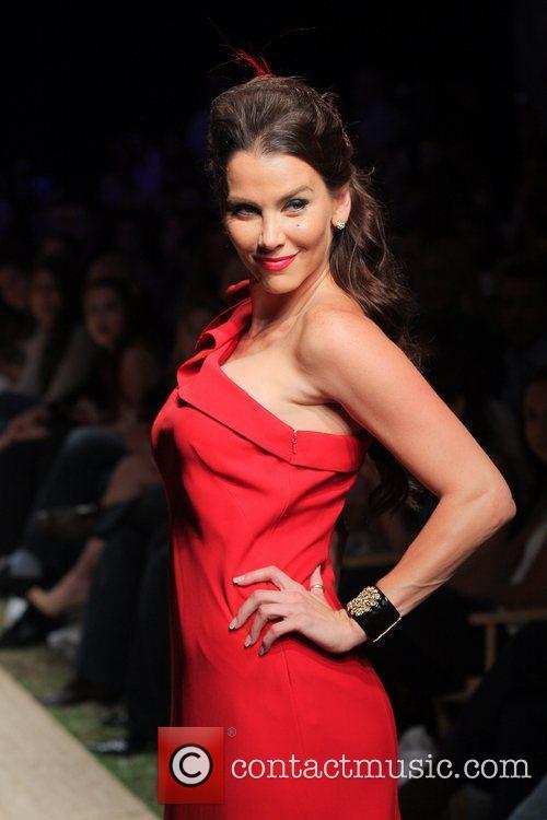 Red Dress Fashion Show during Funkshion Fashion Week...