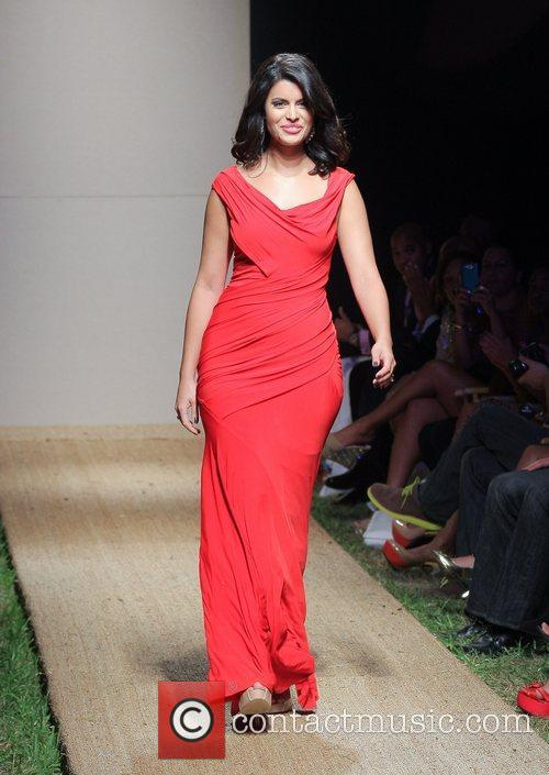 Red Dress Fashion Show during Funkshion Fashion Week...