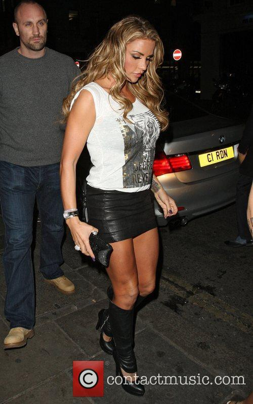 Katie Price and Funky Buddha 3