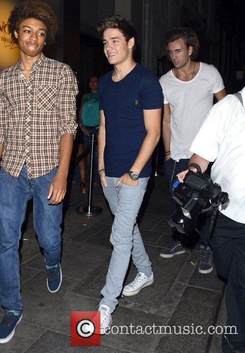 Celebrities enjoy a night out at Funky Buddha