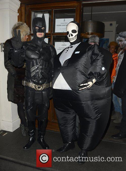 Liam Payne And Tom Daley On Halloween