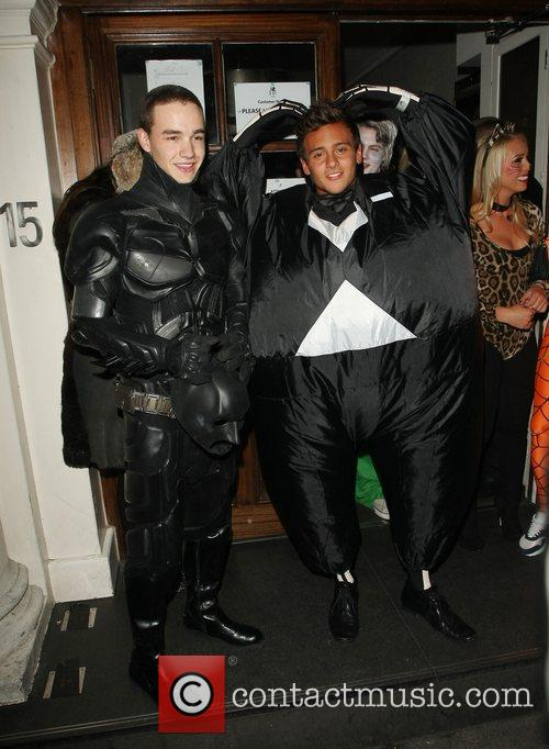 Liam Payne, One Direction, Batman, Tom Daley, Funky Buddha
