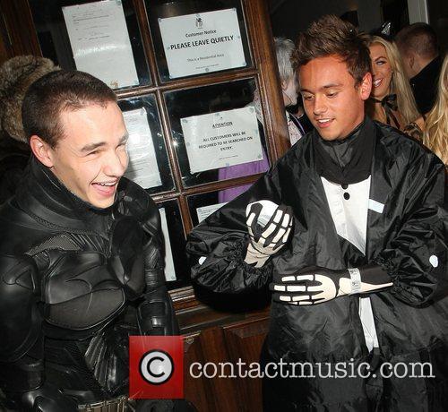 Liam Payne, One Direction, Batman, Tom Daley, Funky Buddha