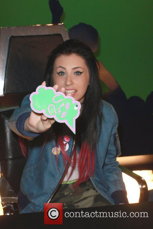 Kreayshawn  at the Funny Or Die video...