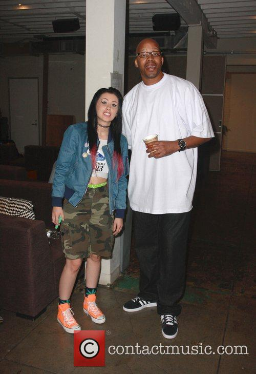 Warren G and Kreayshawn  at the Funny...