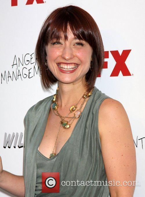Allison Mack at the FX Summer Comedies party
