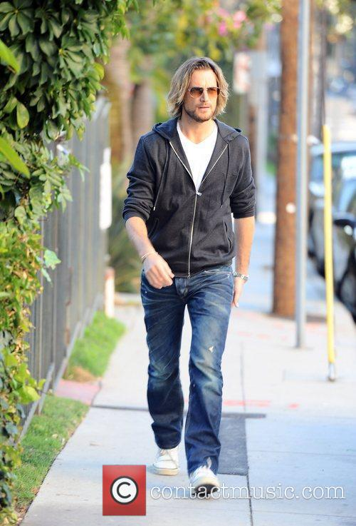 Gabriel Aubry goes to pick his daughter Nahla...