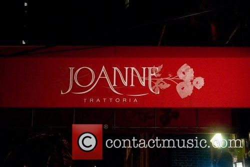 The grand opening of Joanne restaurant, owned by...