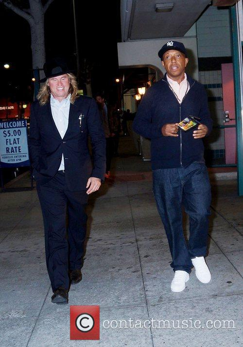 Val Kilmer and Russell Simmons 5