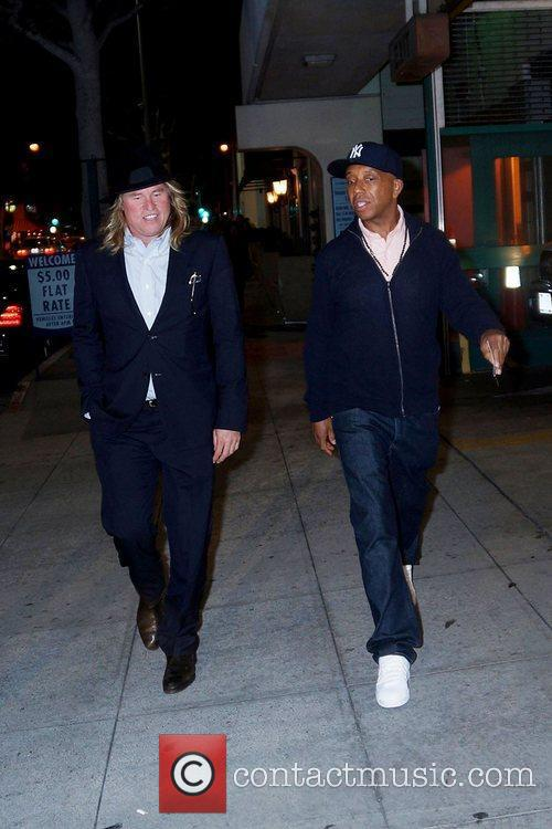 Val Kilmer and Russell Simmons 6