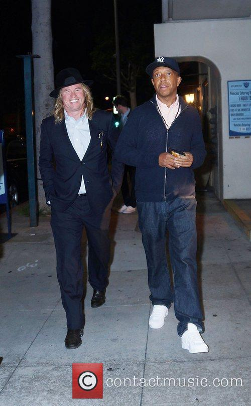 Val Kilmer and Russell Simmons 7