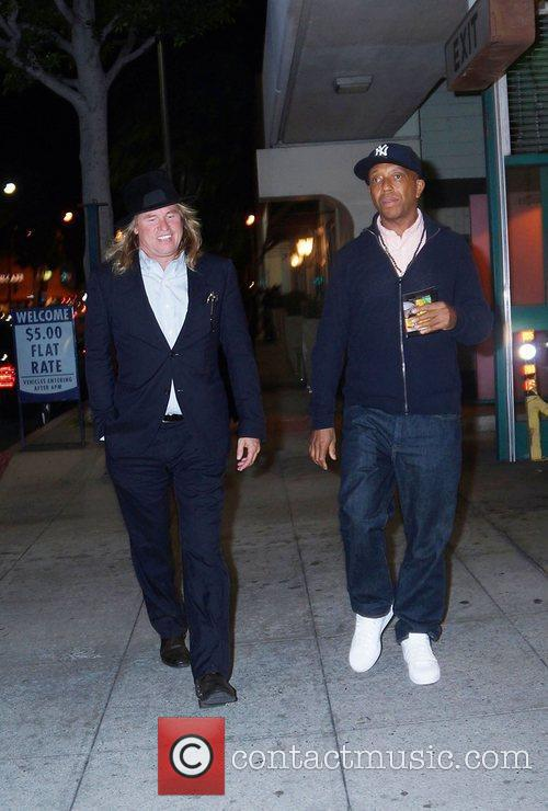 Val Kilmer and Russell Simmons 8