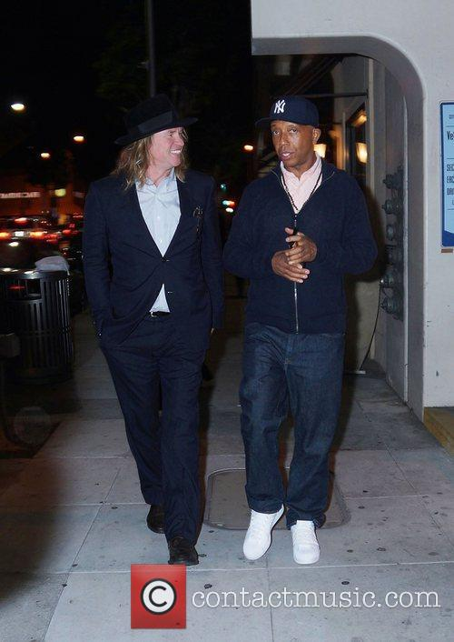 Val Kilmer and Russell Simmons 9