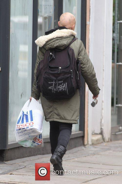 Gail Porter out and about in North London...