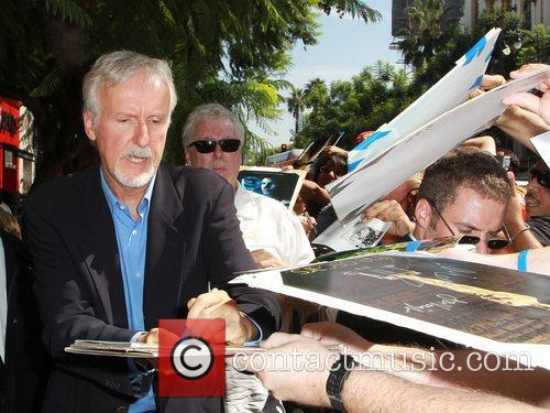 James Cameron and Walk Of Fame 6