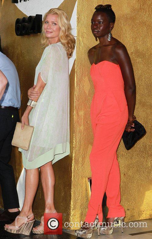 Laurie Holden, Danai Gurira and Walk Of Fame 9