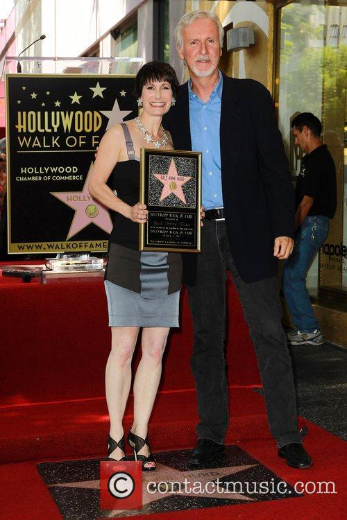 James Cameron, Gale Anne Hurd and Walk Of Fame 1
