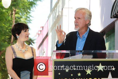 James Cameron, Gale Anne Hurd and Walk Of Fame 3