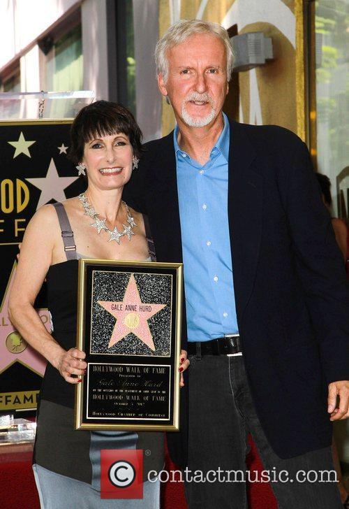 James Cameron, Gale Anne Hurd and Walk Of Fame 4