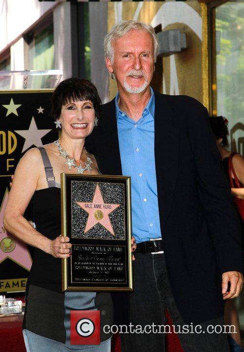 James Cameron, Gale Anne Hurd and Walk Of Fame 2
