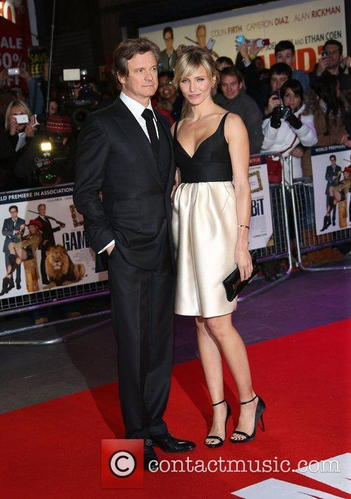 Colin Firth and Cameron Diaz 5