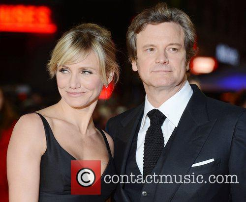 Cameron Diaz, Colin Firth, World Premiere, Gambit, The Empire, Leicester Square, London and England 10